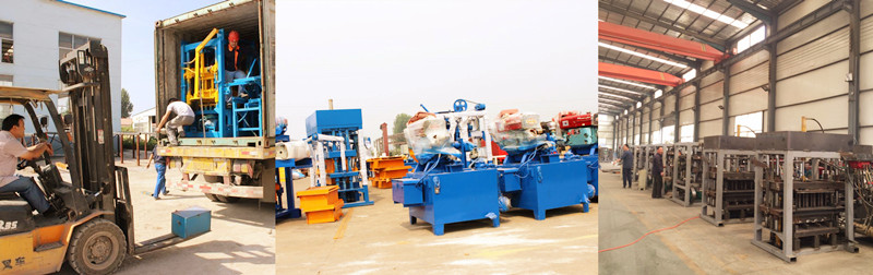 small diesel block machine