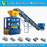 QT4-24 brick production line